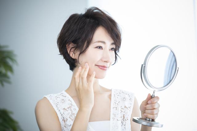 美容鍼灸で肌の痕は